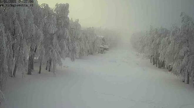 neve 3 gennaio 2021