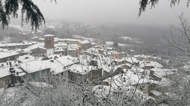 Neve a Montieri