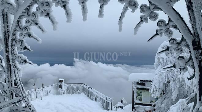 Neve sull'Amiata
