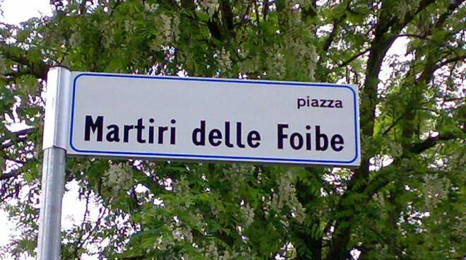 piazza martiri delle foibe