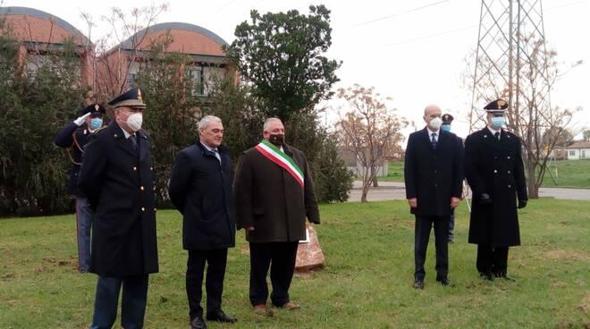 Albero in memoria di Giovanni Palatucci