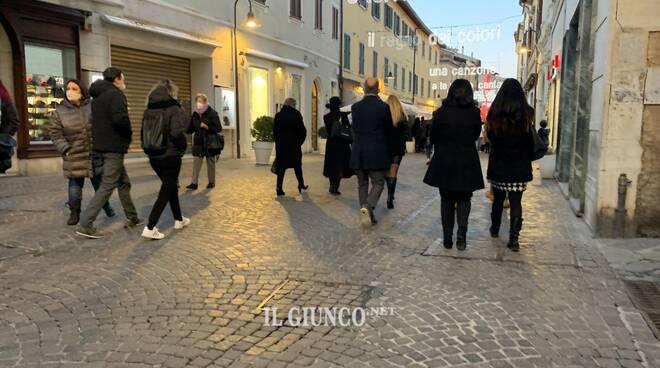 Corso Carducci 2021 sera