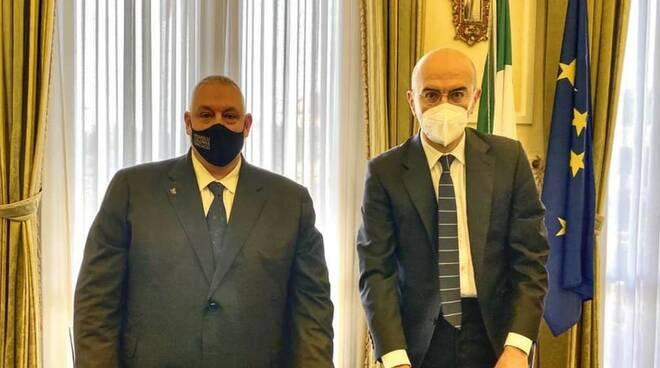 Fabio Marsilio e Antonfrancesco Vivarelli Colonna