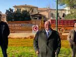 Fabrizio Rossi, Antonfrancesco Vivarelli Colonna e Riccardo Megale - lavori piazza Lulli