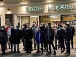 manifestazione teatri chiusi