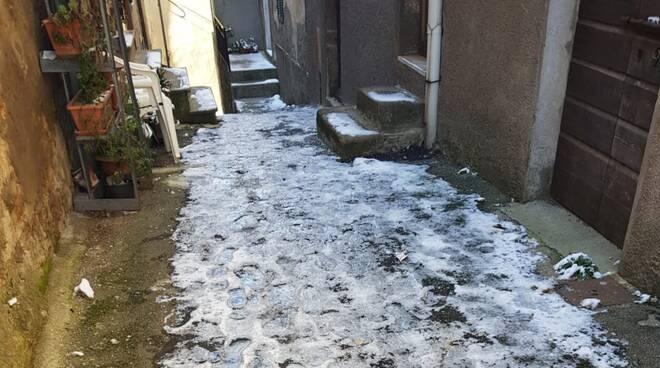 Neve a Sassofortino