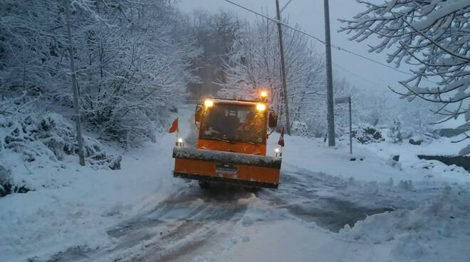 neve santa fiora 13 febbraio 2021