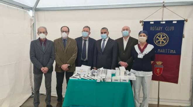 Rotary Massa dona laparoscopia