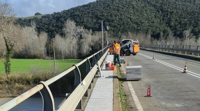 bonifica della rete idrica Istia