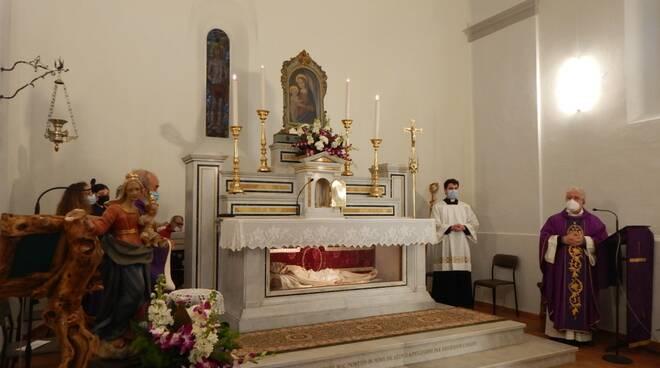 chiesa di san Sebastiano roccatederighi
