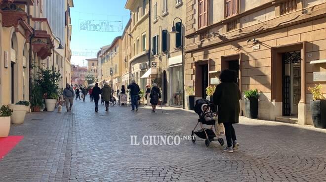 Corso Carducci inverno 2021