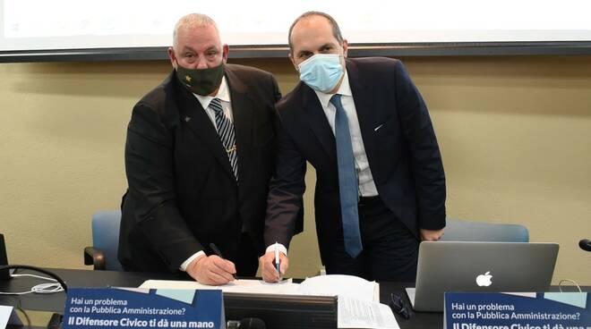 firma protocollo difensore civico - Vanni