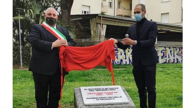 Girolamo Cannoni targa