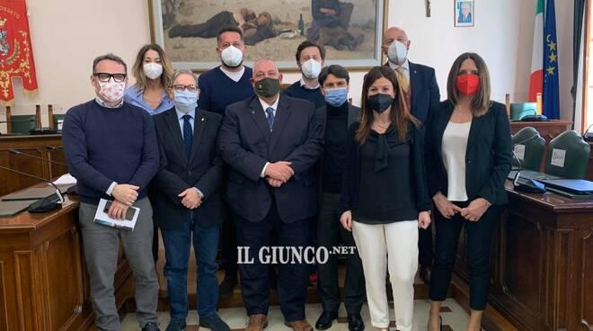 Giunta Vivarelli Colonna 2021