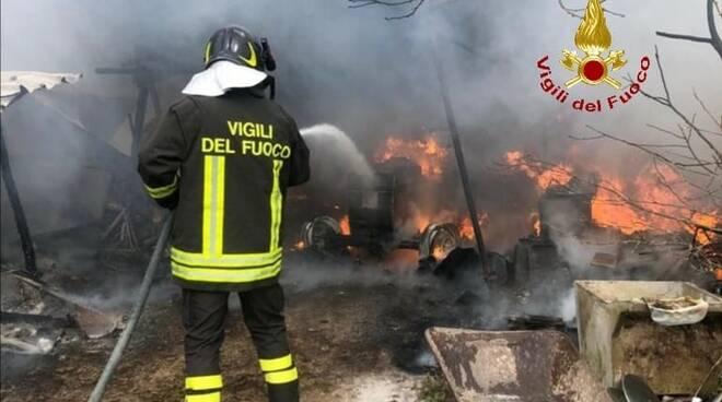 incendio 11 marzo 2021