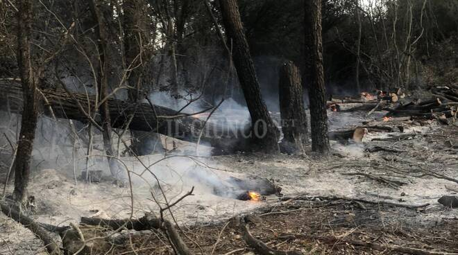 incendio Castellaccia