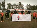 Invictasauro coi tecnici della Fiorentina