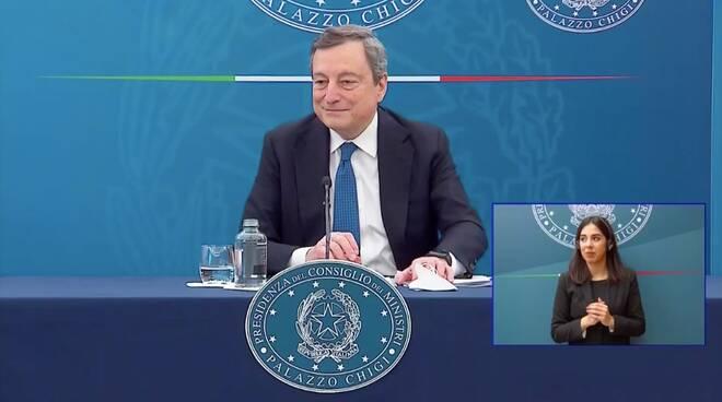 Mario Draghi marzo 2021
