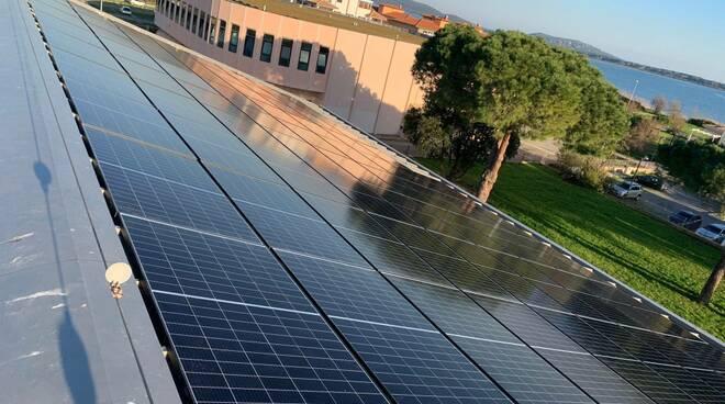 pannelli fotovoltaici scuola Neghelli