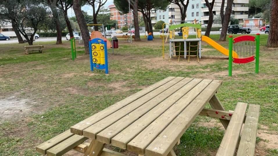 Parco giochi via Morandi