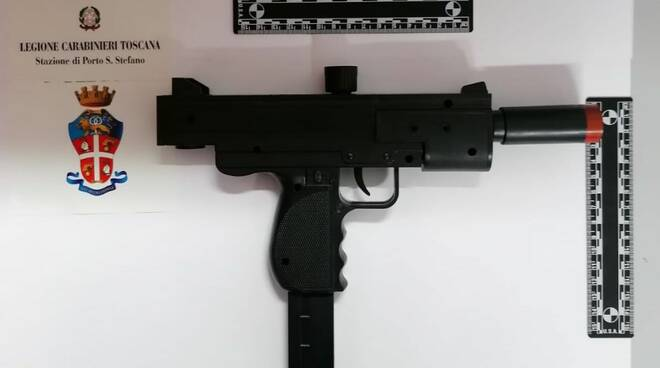 pistola finta