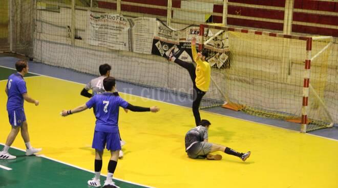 Solari Handball maschile contro lo Spezia, debutto 2021