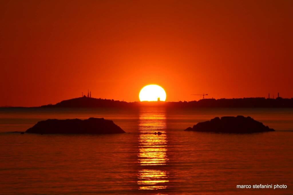 tramonto - foto del giorno di marco stefanini
