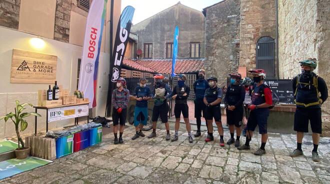 Arrivo E-bikers Maremma Challenge