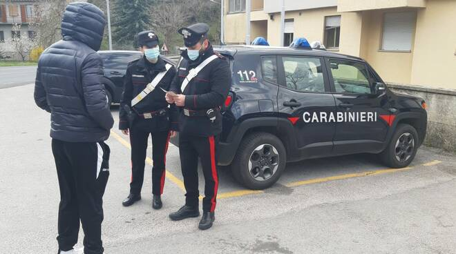 CONTROLLI COronavirus carabinieri