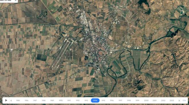 Google Earth timelapse 2021