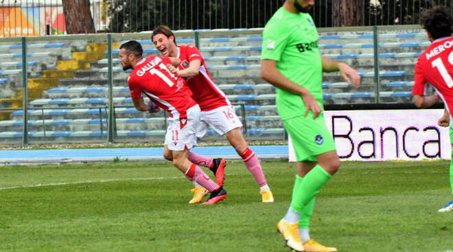 Grosseto-Giana Erminio 1-1 in rimonta