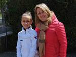 Polisportiva Barbanella Uno - Greta Grassi e la coach Francesca
