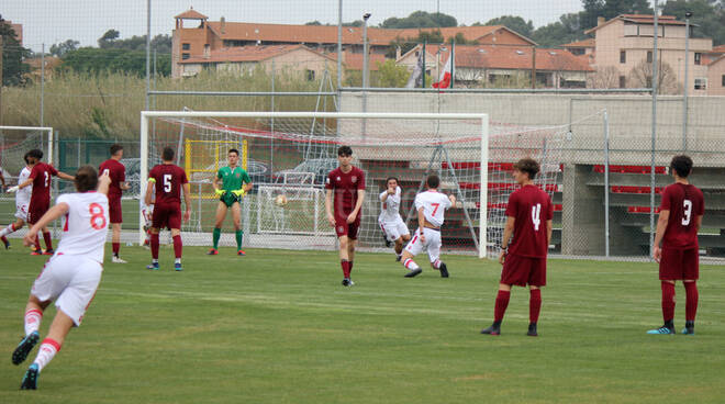 Primavera vs Pontedera gol Ottaviani