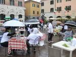 Ristoratori in piazza con i tavoli 2021