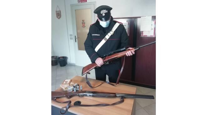 armi sequestrate 8 maggio