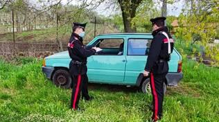 auto danneggiata 13 maggio