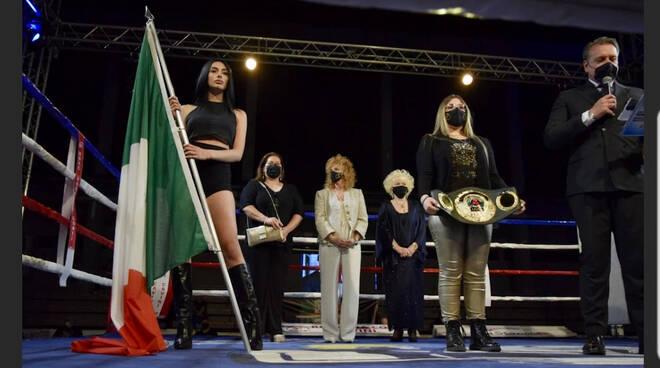 Carafa campione continentale IBO