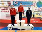 L'Artistica Grosseto festeggia ai Campionati Regionali