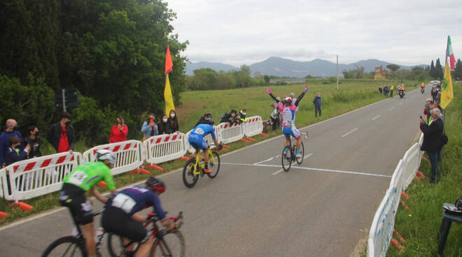 Ciclismo evento Follonica