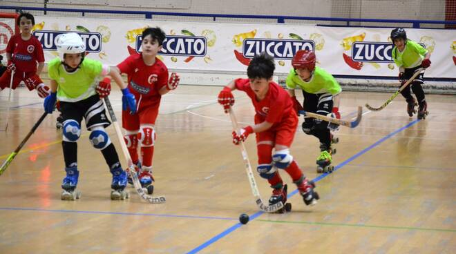 Circolo Pattinatori Under 11 finali Coppa
