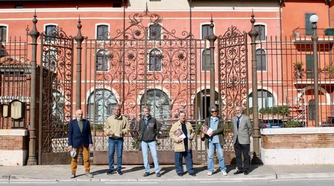 Emidio Cagnoli, Fernando Quatraro, Mario Regina, Giovanni Damiani, Sergio Taccioli, Franco Flamini.