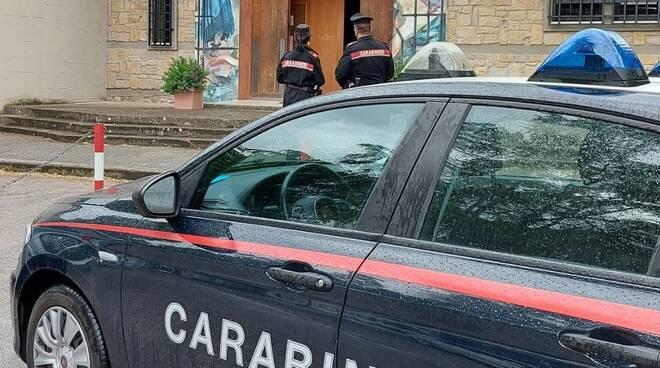 """furto chiesa """"Santissimo Crocifisso"""" cc"""