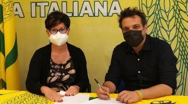 Gabriella Camilli e Nicola Draoli