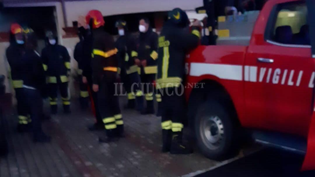 Incendio Fonteblanda 1 maggio 2021