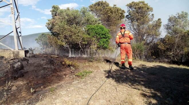Incendio Pian di Rocca 30 maggio 2021