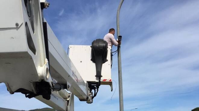 installazione nuove telecamere
