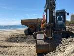 Lavori in spiaggia Follonica