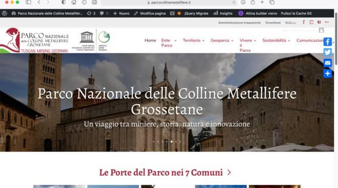 parco colline metallifere sito internet