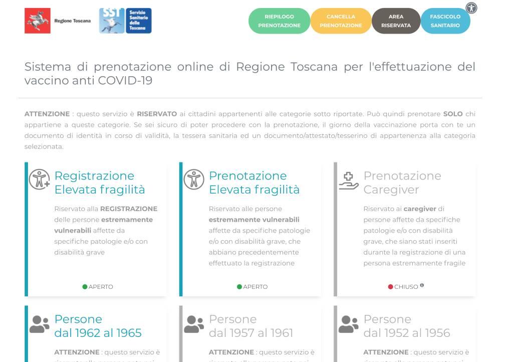 Prenota Vaccini Portale 2021