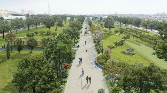 progetto parco del diversivo